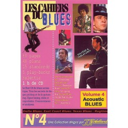 Les cahiers du Blues N°4 Acoustic Blues Ed Rebillard Melody music caen