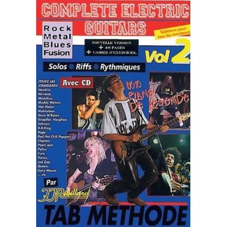 Complete electric Guitars Vol2 Rock Metal Blues Fusion Ed Rebillard