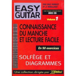 Rébillard Easy Guitar Vol1 Eric Perrot et Rébillard