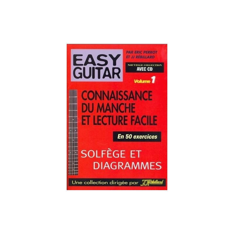 Easy Guitar Vol1 Eric Perrot et Rébillard Ed Rébillard Melody music caen