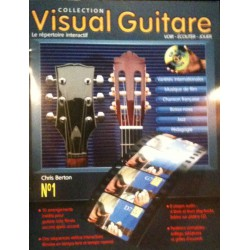 Visual Guitare N°1 Chris Berton Ed Hit Diffusion Melody music caen