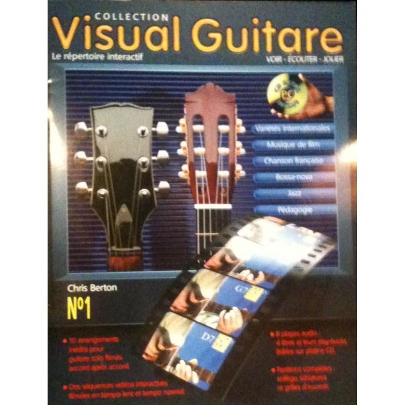 Visual Guitare N°1 Chris Berton Ed Hit Diffusion Melody music caen