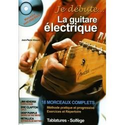 Je débute la guitare électrique Jean Pierre Vimont Ed Hit Diffusion Melody music caen