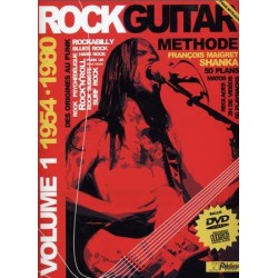 Rock Guitar Methode Vol1 1954-1980 François Maigret Ed Rebillard Melody music caen
