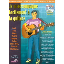 Je m'accompagne facilement à la guitare Laurent Huet Ed Carisch