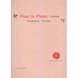 Debussy Prélude, Sarabande, Toccata
