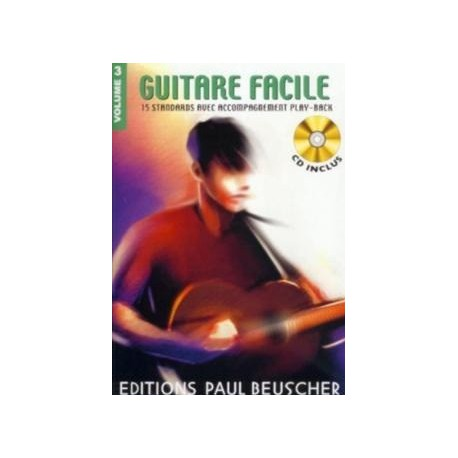 Guitare Facile Vol3 Ed Paul Beuscher Melody music caen