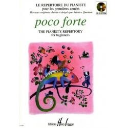 Poco Forte Le repertoire du pianiste Béatrice Quoniam Ed Henry Lemoine Melody music caen