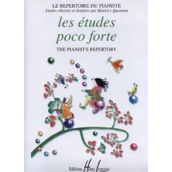 Les études Poco Forte Le Répertoire du Pianiste Béatrice Quoniam Ed Henry Lemoine Melody music caen
