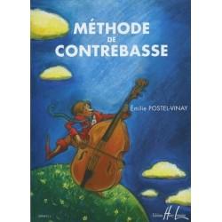 Méthode de Contrebasse Emilie Postel Vinay Ed Henry Lemoine