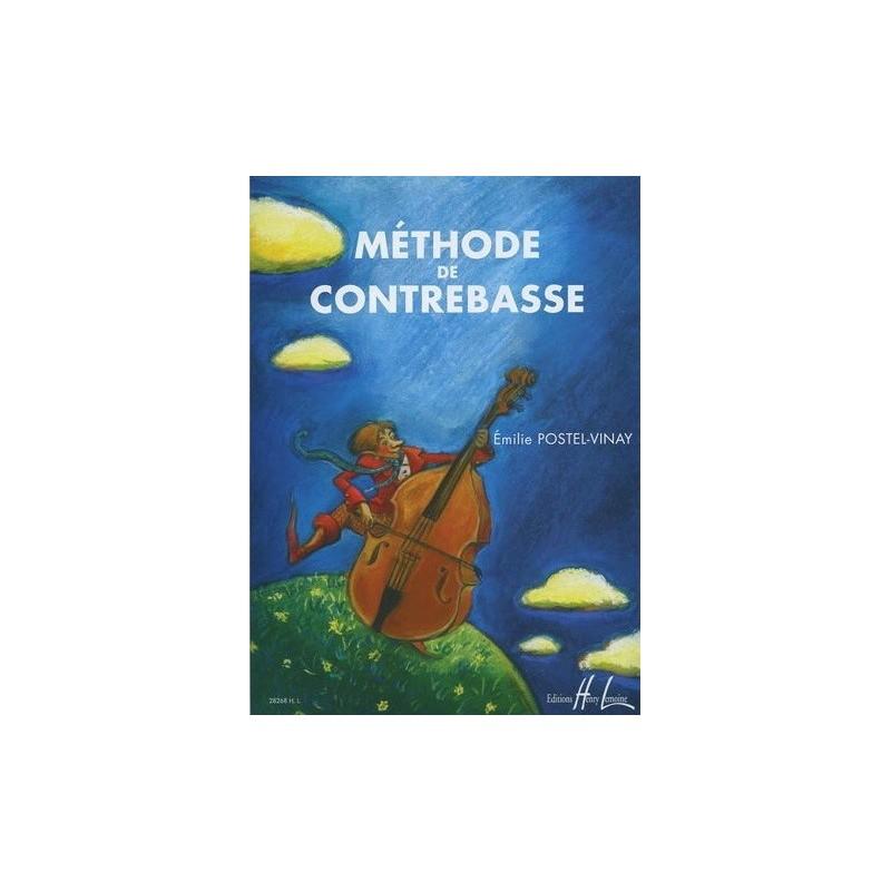 Méthode de Contrebasse Emilie Postel Vinay Ed Henry Lemoine Melody music caen