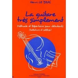 La Guitare Très Simplement Henri Le Bras Ed Combre
