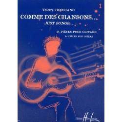 Comme des chansons Vol1 Thierry Tisserand Ed Henry Lemoine