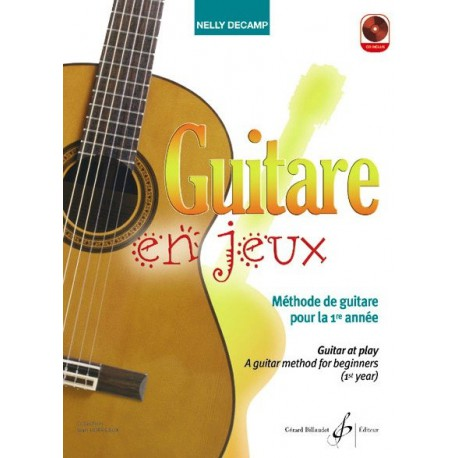 Guitare en Jeux Nelly Decamp Ed Billaudot Melody music caen