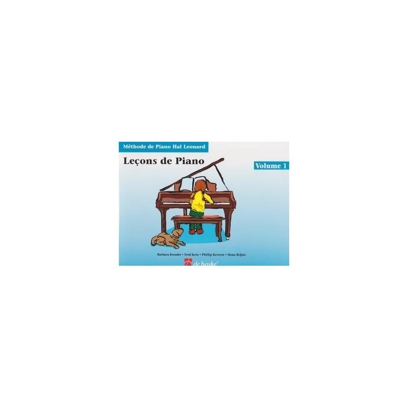Leçons de Piano Hal Léonard Ed De Haske Melody music caen