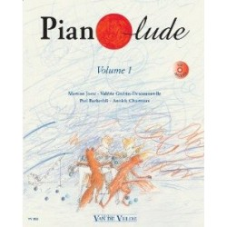 Pianolude Vol1 Martine Joste Valérie Guerin...Ed Van de Velde