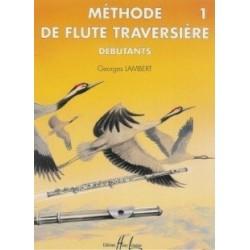 Méthode de flûte traversière pour débutants Vol1 Georges Lambert Ed Henry Lemoine