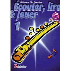 Méthode de flûte traversière Ecouter, Lire, Jouer Vol1 Ed De Haske