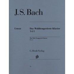 Le clavier bien tempéré Part 1 Urtext Bach HN14