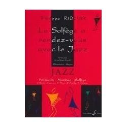 Le Solfège a rendez vous avec le jazz Philippe Ribour Ed Billaudot