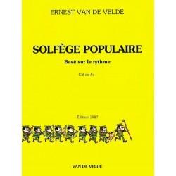 Solfège Populaire Basé sur le Rythme Clé de Fa Ed Van de Velde Melody music caen