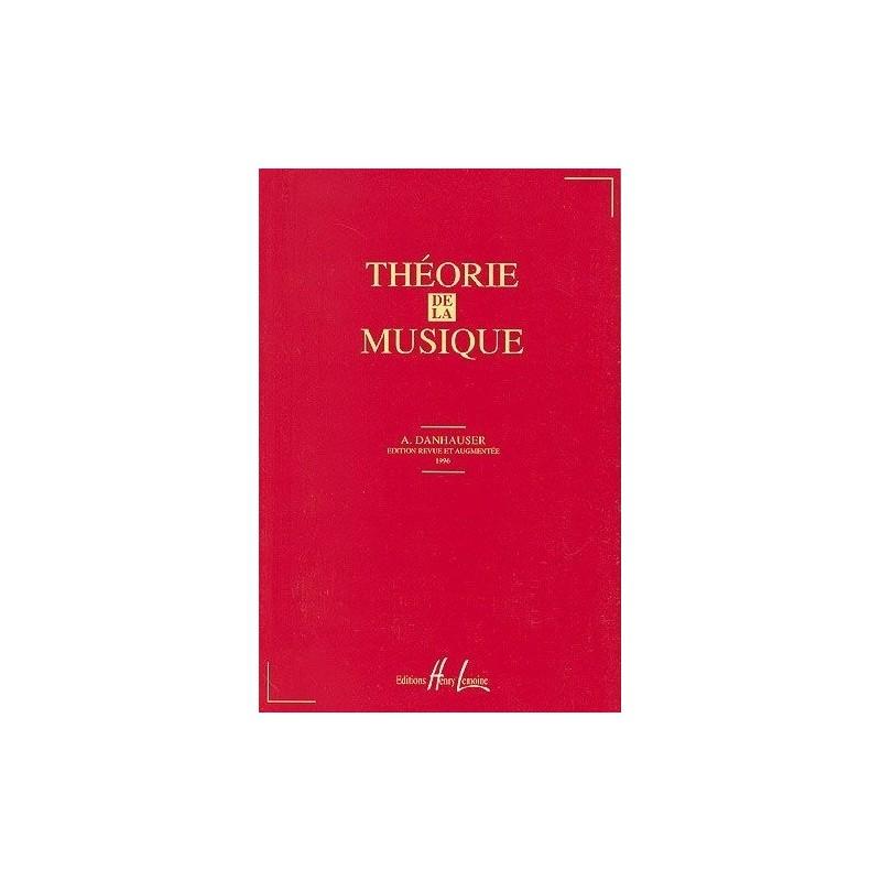 Théorie de la Musique Danhauser Ed Henry Lemoine Melody music caen