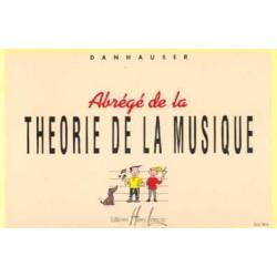 Abrégé de la théorie de la musique Danhauser Ed Henry Lemoine Melody music caen