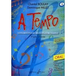 A Tempo Vol 5 Oral 2è cycle 1ère année