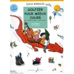 Solfier pour mieux Jouer vol2 Sylvie Baraud Ed Billaudot