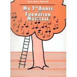Ma 1è Année de Formation Musicale Marie Hélène SICILIANO Melody music caen
