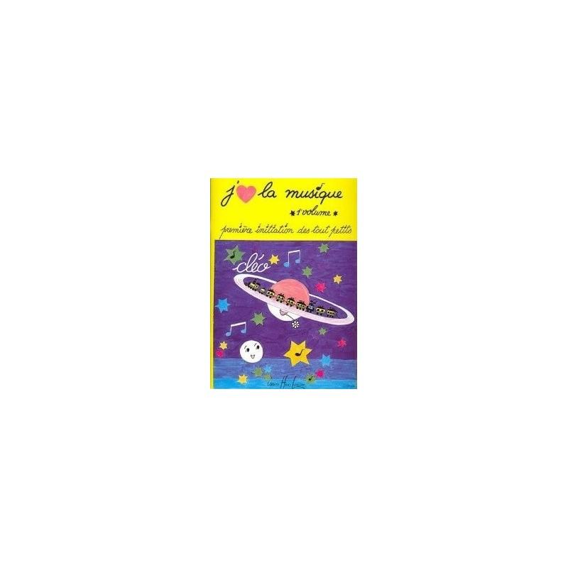 J aime la musique Première Initiation des tout petits 1er Vol Cléo Ed Henry Lemoine Melody music caen