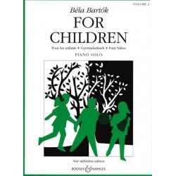 For children vol2 Béla Bartok