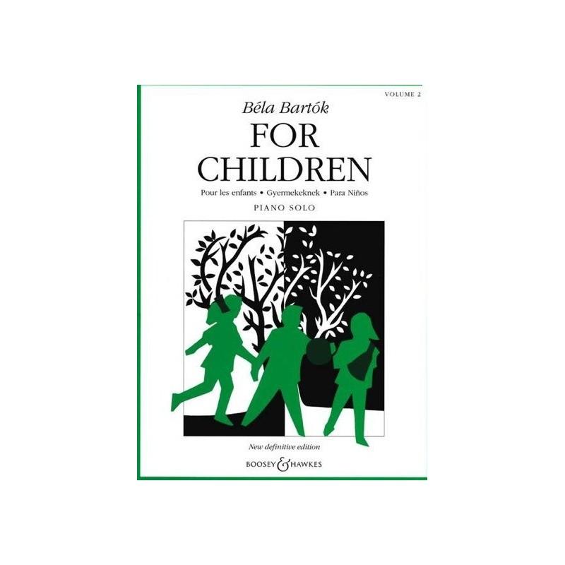 For children vol2 Béla Bartok Melody music caen
