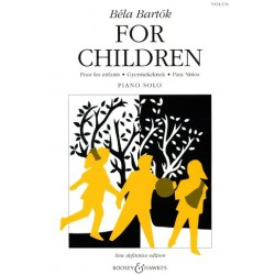 For children vol1 Béla Bartok