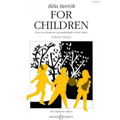 For children vol1 Béla Bartok Melody music caen