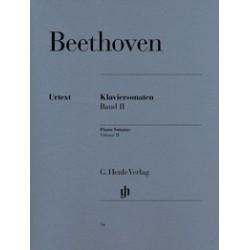 Klaviersonaten band II Beethoven Urtext