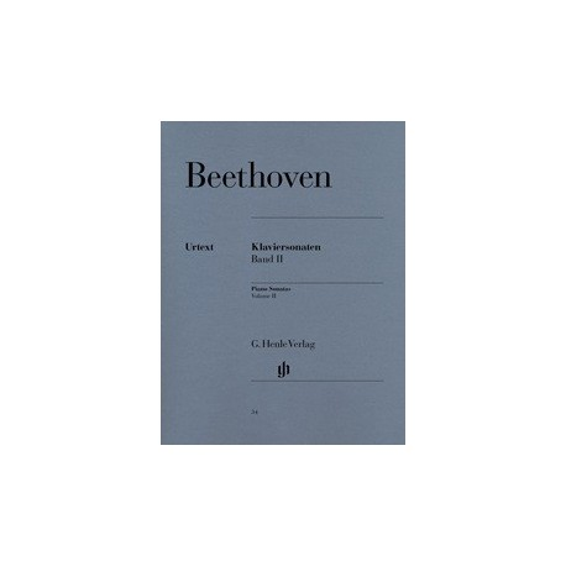 Klaviersonaten band II Beethoven Urtext Melody music caen