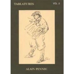 Tablatures Vol2 Alain Pennec Melody music caen