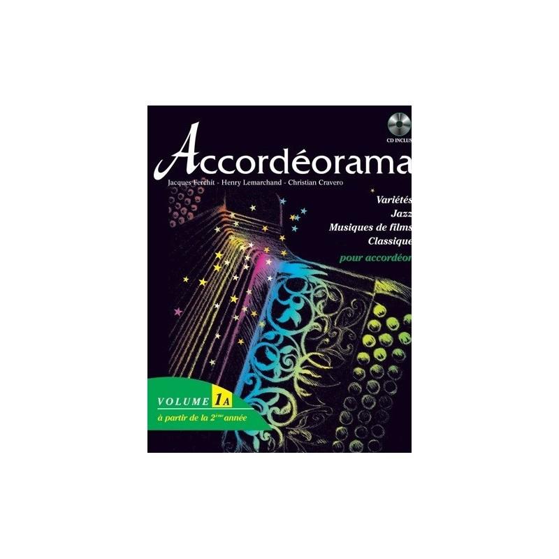 Accordéorama Vol1A Jacques Ferchit Melody music caen