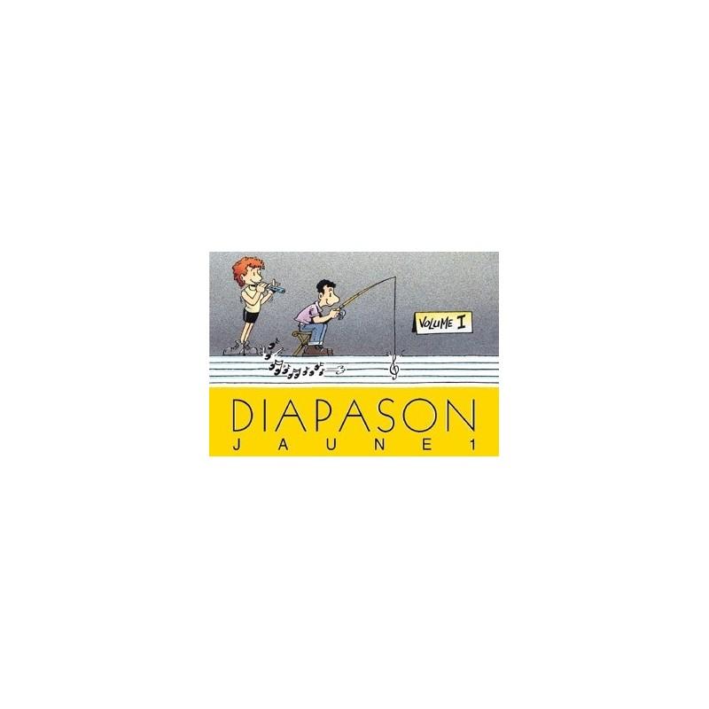 Diapason jaune Vol1 avec accords guitares Melody music caen