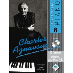 Recueil spécial piano vol8 Charles Aznavour