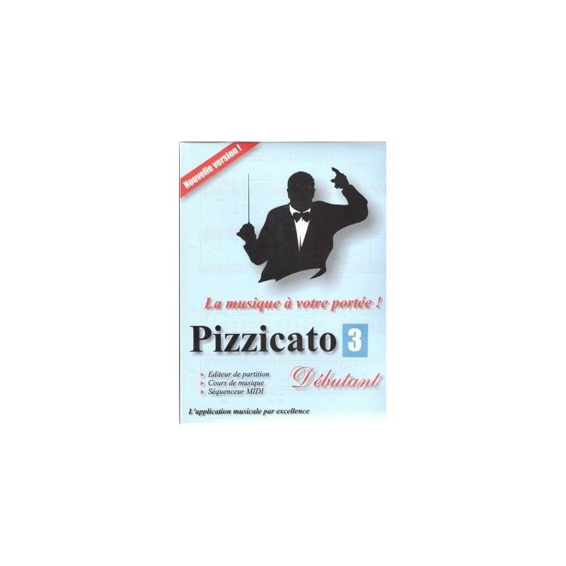 Pizzicato Logiciel Editeur de partitions Version Loisir Melody music caen