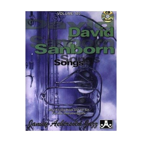 David Sanborn Vol103 Aebersold Melody music caen