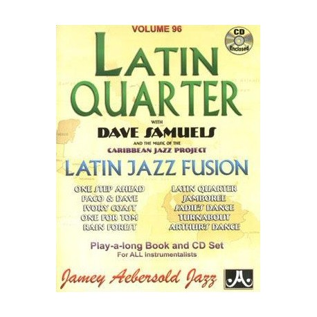 Latin Quarter Vol96 Aebersold Melody music caen