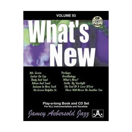 What s new Vol93 Aebersold Melody music caen