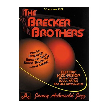 The Brecker brothers vol83 Aebersold Melody music caen