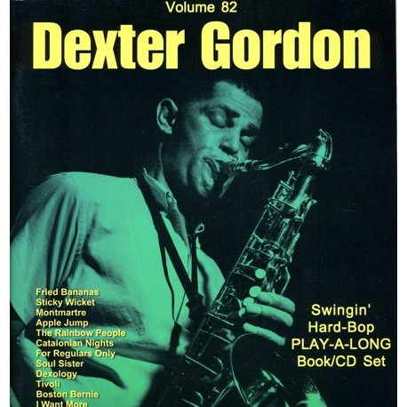 Dexter Gordon Vol82 Aebersold Melody music caen