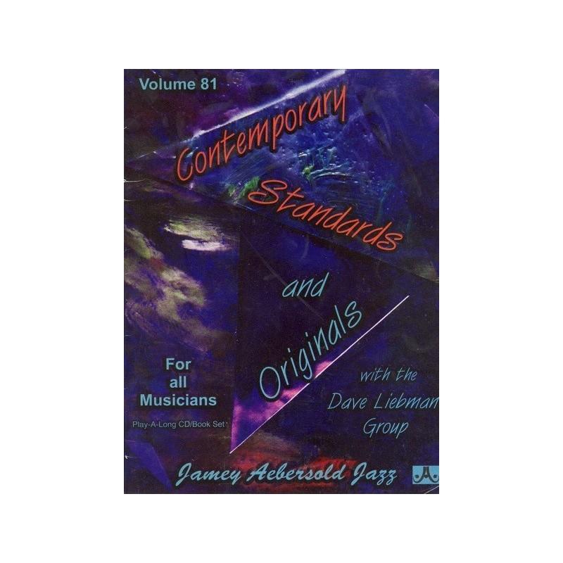 Contemporary standards and originals Vol81 Aebersold Melody music caen