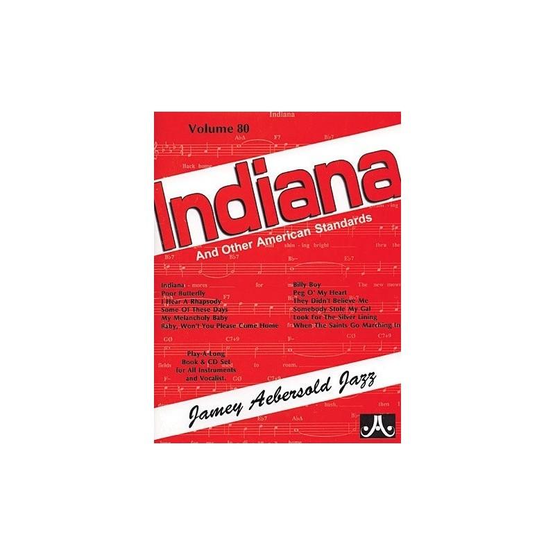 Indiana Vol80 Aebersold Melody music caen
