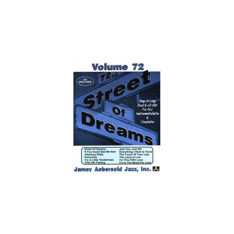 Street of dreams Vol72 Aebersold Melody music caen
